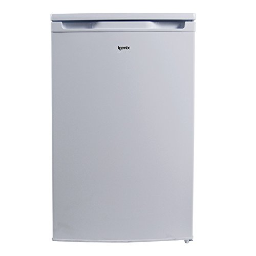 Igenix IG350F Wide Freestanding Under Counter Freezer with 3 Clear Drawers,...