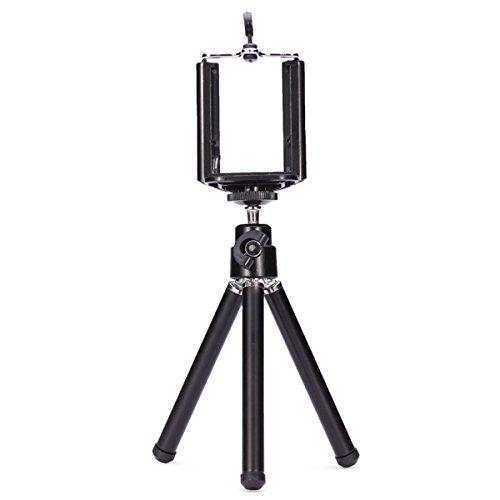 360 Rotation Tripod Bracket Mount Holder Stand For Camera Cellphone (Random: Color)