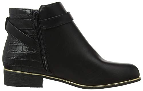 130 Women's Perkins Black Ankle Dorothy Boots Black Mayan 01wUq
