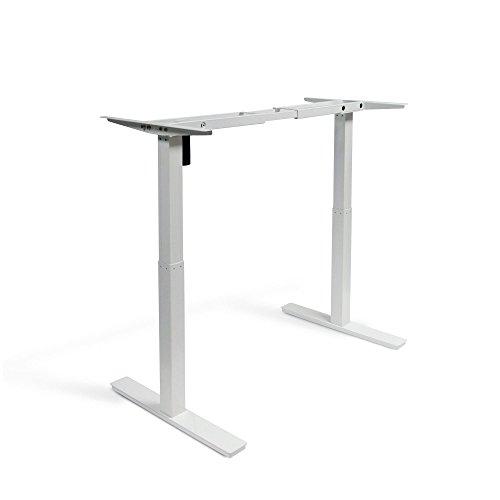 Autonomous SmartDesk - Height-Adjustable Standing Desk - Dual Motor - Grey Frame