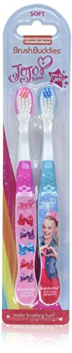 JoJo Siwa 2pk Manual Toothbrush]()