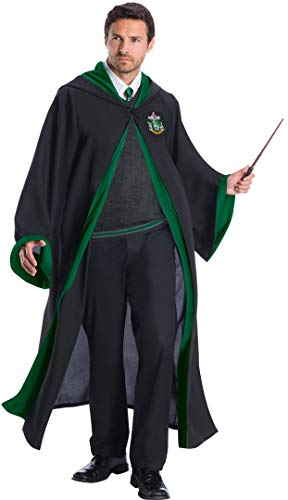 Charades Slytherin Student Adult Costume, As Shown,