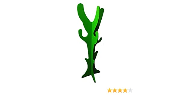 Valenciana del Hogar Perchero Cactus. Perchero con Forma de Cactus. Verde
