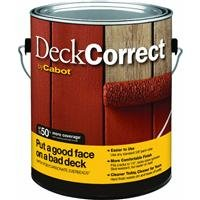 Cabot Stain Acrylic Finish: Flat Tint Base Solid Container Size Gl Low Voc