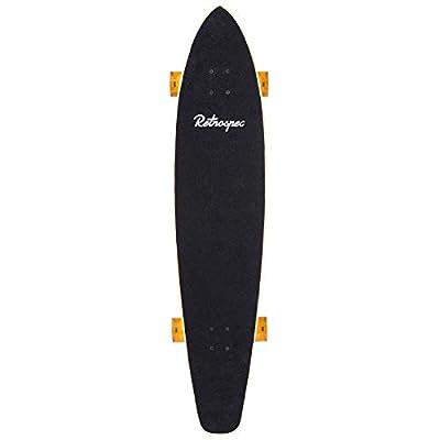 Retrospec Zed Bamboo Longboard Skateboard Complete Cruiser : Sports & Outdoors