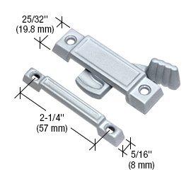 C.R. LAURENCE F2531 CRL Chrome Window Sash Lock With 2-1/4