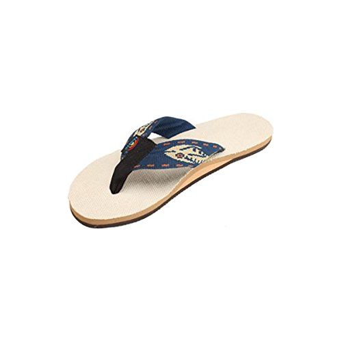 Rainbow-Sandals-Ladies-Hemp-Single-Layer-Arch-Fish-Strap-Natural-Gold-Fish-Navy-Strap-Large