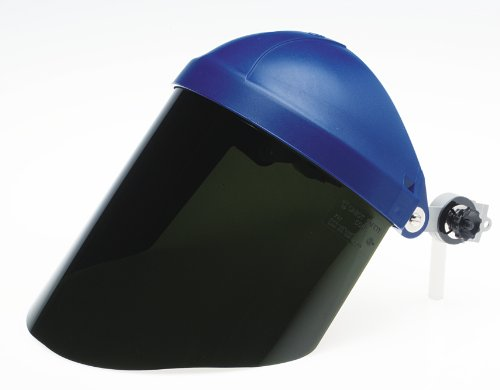 Face Shield Window - 3M Polycarbonate Faceshield Window W96IR5, Face Protection 82706-10000, Shade 5.0