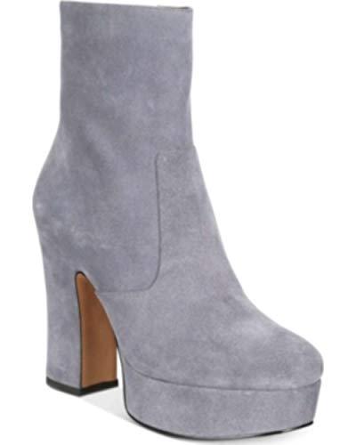 Avec Les Filles Womens Lianna Closed Toe Ankle Fashion Boots, Grey, Size 7.5
