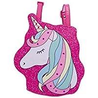 Bolsa Infantil Princesa Pink Mochila Unicornio Face