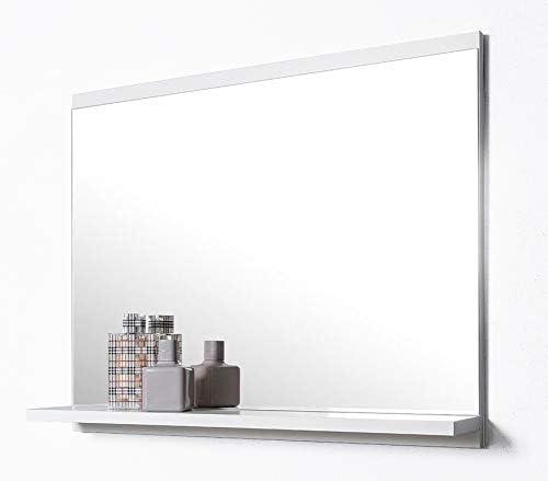 Domtech Badspiegel Mit Ablage Weiss Badezimmer Spiegel