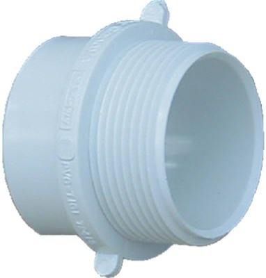 2 Adapter Pvc - Genova Products 72420 Male Pipe Thread Fitting Adapter, 2