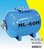 BurCam 600652B ML60H Diaphragm Pressure Tank, 15.0 gal, SS Flange