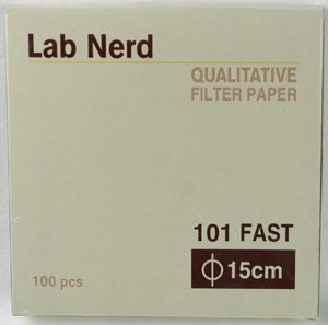 15 cm - 101 Qualitative Filter Paper