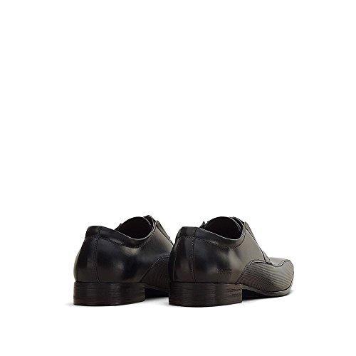 Reaktion Kenneth Cole Bro-tential Läder Sko - Mens Svarta