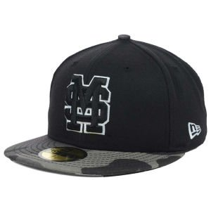 - New Era Mississippi State Bulldogs NCAA Fitted 59FIFTY Cap Hat Black Urban Camo (7 1/4)