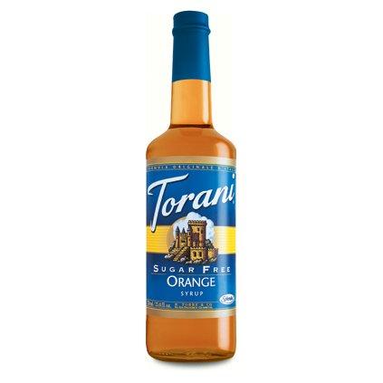 Torani Sugar Free Orange Syrup (1 Single 750 ml bottle)