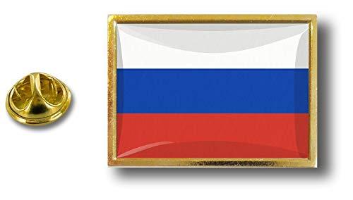 Avec Drapeau Pin's Pins Russie Pince Papillon Russe Badge Akacha Pin Metal 86Xxfq8n