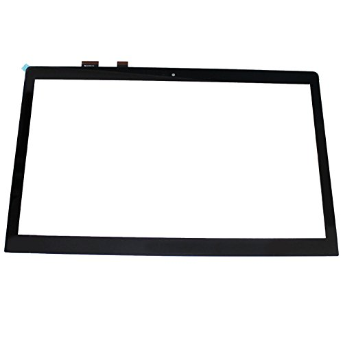LCDOLED 15.6 inch Replacement Touch Screen Digitizer Front Glass Panel for ASUS ZenBook Pro UX501VW-XS74T UX501VW-FJ013R UX501VW-FJ044T (No Bezel)