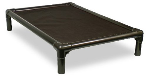 Kuranda Dog Bed – Chewproof Design – Walnut PVC – Indoor – Elevated – High Strength PVC – Easy to Clean – Water Proof – Breathability – Vinyl Weave Fabric