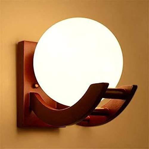 SIMRAN HANDICRAFTS Brown Color Globe Shape E27 Holder Upto 100-Watts, Pack of 1