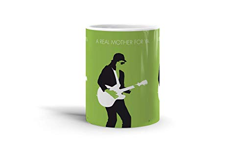 Ceramic Coffee Mug Melody Cup No6 My Johnny Guitar Watson Minimal Music Music Singer Songs Drinkware Super White Mugs Family Gift Cups 11oz 325ml
