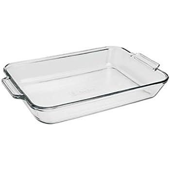 Anchor Hocking 81935OBL11 Oven Basics Bake Dish, 3 quart, Clear
