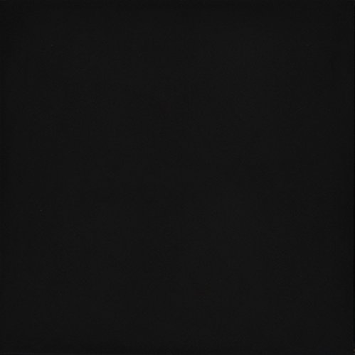"Emser Tile ""Times Square"" Polished Porcelain Tile, 12"" x 12"", Black"