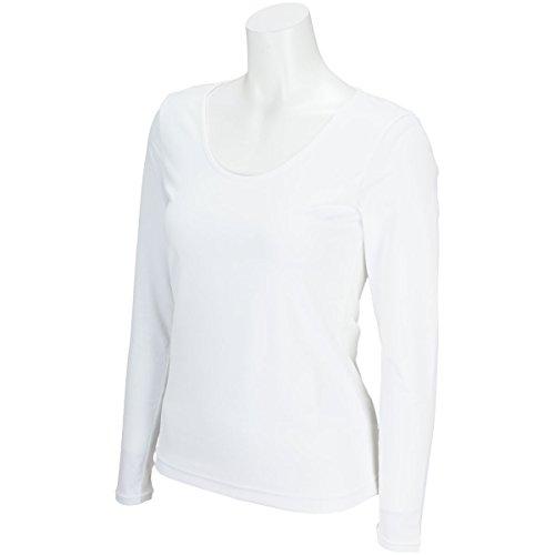 インナーシャツ レディース ブラック&ホワイト Black&White 2018 春夏 ゴルフウェア L(L) ホワイト(10) b6818lsxz