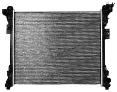 TYC 13062 Chrysler Town and Country 1-Row Plastic Aluminum Replacement Radiator