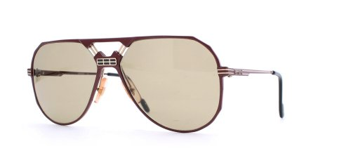 Ferrari 23 580 Red Authentic Men Vintage - Ferrari Sunglasses Aviator
