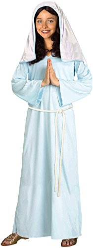 [Forum Novelties Biblical Times Mary Costume, Child Medium] (Girls Virgin Mary Costume)