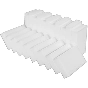 Anpro 20 Pack Magic Cleaning Eraser Sponge Magic Eraser Sponge Thick Cleaning Melamine Foam for Kitchen Bathroom Furniture Car