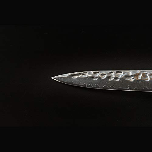 Chef's knife Damascus multipurpose knife(5 inch knife) by FZ (Image #3)
