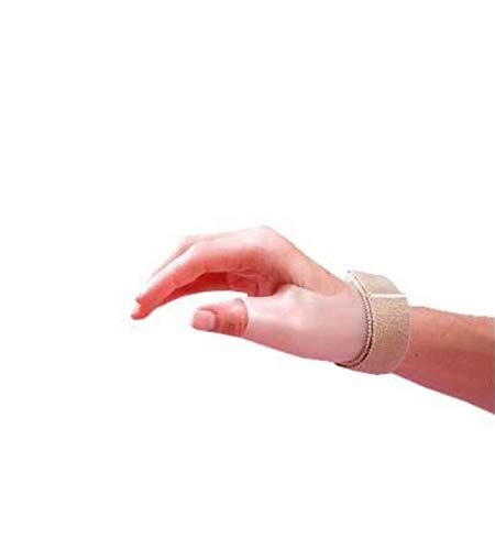 Rolyan Rigid Thumb Spica Splint, Thumb Immobilizer with Wrist Strap, Thumb Splint Immobilizes CMC and MCP of Thumb, Polypropylene Brace for Thumb Muscle and Joint Support, Multiple Sizes