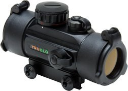TRUGLO Crossbow Red Dot Sight 30mm 3-Dot Black (Best Red Dot For Hunting)