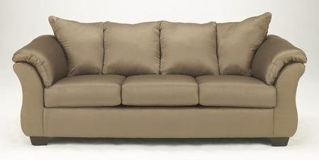 Ashley Furniture Signature Design - Darcy Sofa - 3 Seats - Ultra Soft Upholstery - Contemporary - Mocha