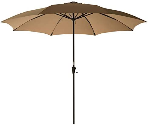 C-Hopetree 11ft Outside Patio Umbrella Large Market Style