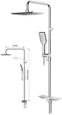 Sensea Remix - Sistema Completo de Ducha (Sistema de Lluvia y Ducha, 2