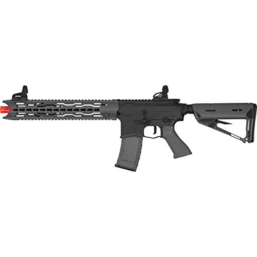 Valken ASL Series M4 Airsoft Rifle AEG 6mm Rifle - TRG - Black/Grey