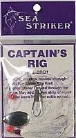 Sea Striker CR01 Captain's Rig White Bucktail ()