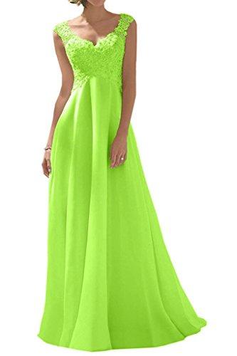Trapecio Vestido Topkleider de Mujer Novia Verde tpxtnOqw4