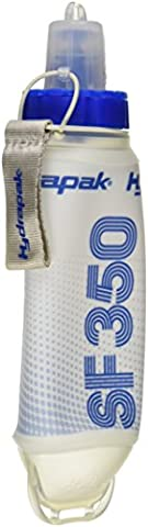 Hydrapak SF350 SoftFlask, White/Blue, 350ml