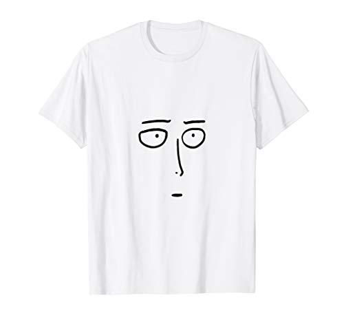SuperHero Saitama Okay Face - One Strong Punch Man T-Shirt ()