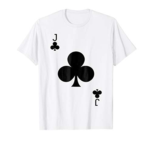 Jack of Clubs Deck of Cards Halloween Costume