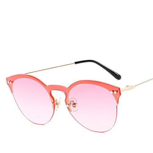 Sol Metal Parasol De Moda Gafas Redondas Gafas Tendencia RinV NO5 De Uñas N01 Señoras Shoot Océano Sol Street nZqPxY