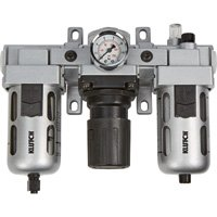 Klutch Air Filter-Regulator-Lubricator Combo - 1/2in., 106 CFM by Klutch