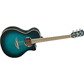 yamaha apx500ii acoustic electric guitar oriental blue burst musical instruments. Black Bedroom Furniture Sets. Home Design Ideas