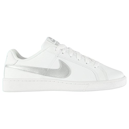 Baskets Nike Chaussures Royale Sneakers pour Baskets court Blanc argent Officiel Sports femme f6TvO