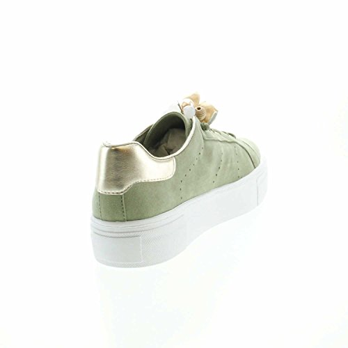 Donna Stringate Verde Tamaris Scarpe Sneaker fpwxt8